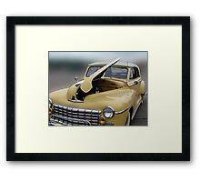 Antique Dodge Framed Print