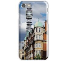 BT Tower Sky Views iPhone Case/Skin