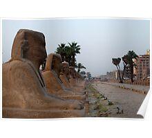 Karnak Templo Poster
