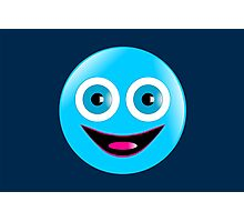 Toothless Smiley Photographic Print