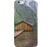 Obersee, Berchtesgaden National Park iPhone Case/Skin