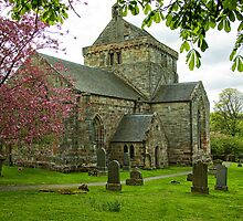 Crichton Collegiate Church by Lynne Morris
