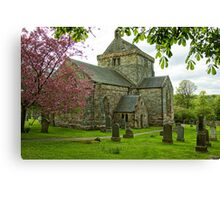 Crichton Collegiate Church Canvas Print