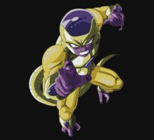 Golden Frieza by ShocksDesigns