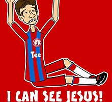 Thomasshole Muller - Jesus by 442oons
