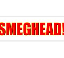 Smeghead T-Shirt - Smeging Parody T-Shirt Sticker