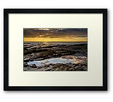 Sunset at Nash Point Framed Print