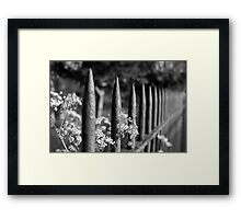 NATURE WILL PREVAIL Framed Print