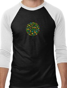 The Poke-a-Dot Tree Men's Baseball ¾ T-Shirt