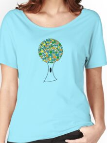 The Poke-a-Dot Tree Women's Relaxed Fit T-Shirt