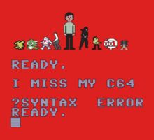 I miss my Commodore 64 One Piece - Short Sleeve