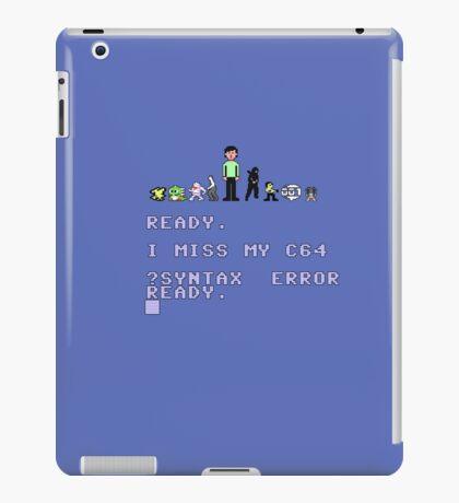 I miss my Commodore 64 iPad Case/Skin