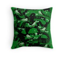 Is Anybody There? Throw Pillow