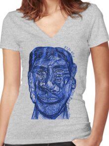 20100518 _GIMP Women's Fitted V-Neck T-Shirt