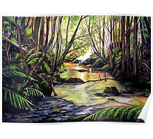 Blue Mountains Creek Poster