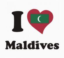 I HEART MALDIVES Kids Tee