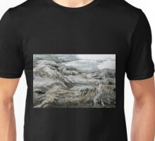 Rocks like Waves, Harbord, NSW, Australia. Unisex T-Shirt