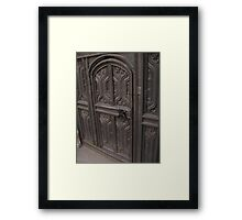 Door in a door Framed Print