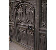 Door in a door Photographic Print