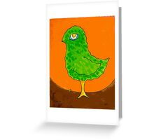 Bird Egg Tree Greeting Card