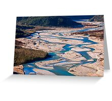 Veins of the Earth Greeting Card
