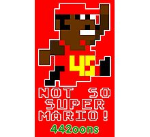 Not So Super Mario Photographic Print