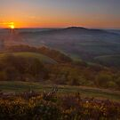 Sunrise over Pilsden Pen by Rob Lodge