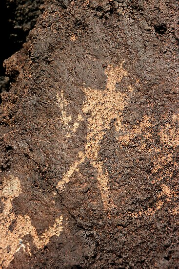 New Mexico Petroglyph by Karen Kaleta