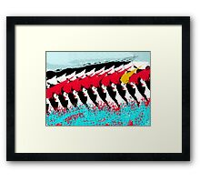 Somehow Different  Framed Print