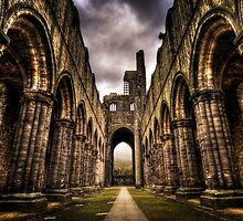 Kirkstall Abbey - Leeds by thephotosnapper