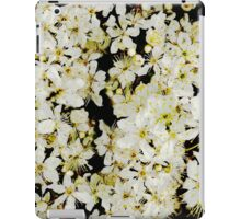 White blossom iPad Case/Skin
