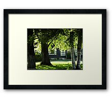 Conrad Mansion 2 Framed Print