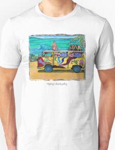 Surf Art /peace & love T-Shirt