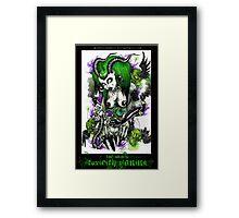 dark toxicity  Framed Print