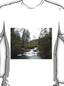 Pencil Pine Falls, Cradle Mountain, Tasmania, Australia. T-Shirt