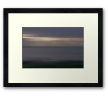 Winter Dayz Framed Print