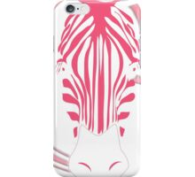 White Zebra iPhone Case/Skin