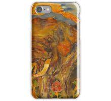 Elephant in Sanctuary iPhone Case/Skin