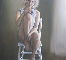 Portrait of Sarah by Jodi Stewart