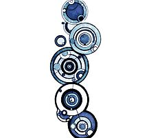 Doctor Who - The Doctor's name in Gallifreyan #4 by BenH4