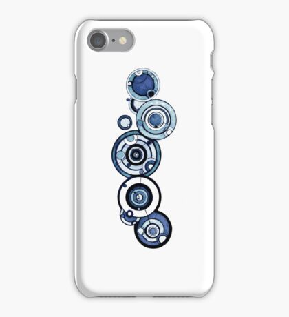 Doctor Who - The Doctor's name in Gallifreyan #4 iPhone Case/Skin