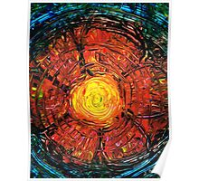 Red Flower Art - Incurable Romantic - By Sharon Cummings Poster