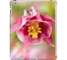Blossom of a Aquilegia in Purp iPad Case/Skin