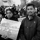 Two Demonstrators by Andrew  Makowiecki