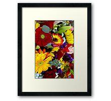 A Gardener's Delight Framed Print