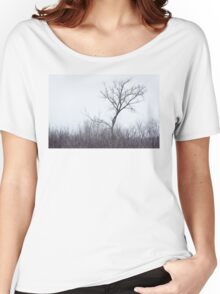 The Tree on the Hill Women's Relaxed Fit T-Shirt