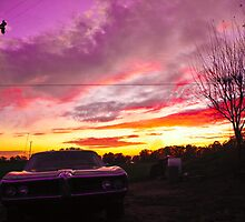 Pontiac at sunset by JesusLopez