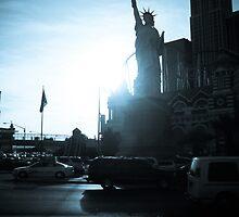 Blue Vegas by JesusLopez