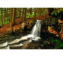 UPPER DUTCHMAN FALLS Photographic Print