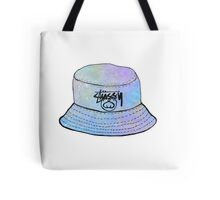 Holograph Stussy Bucket Hat Tote Bag